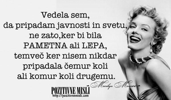 Marilyn Monroe - moje življenje