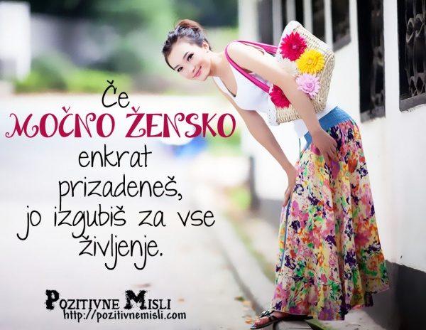- Močna ženska -