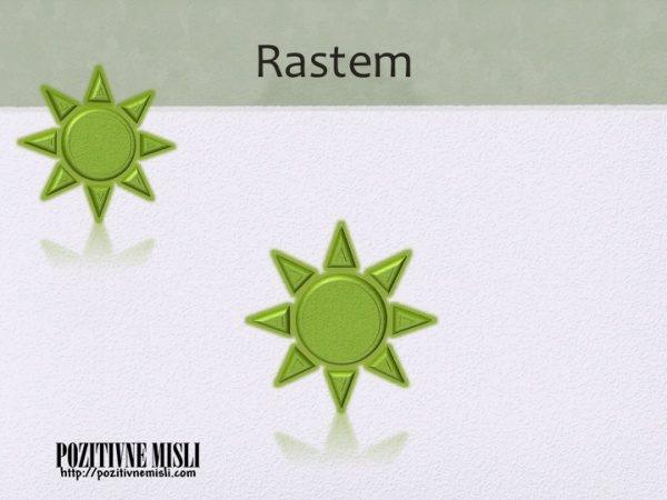 RASTEM - afirmacije za smaozavestne ženske