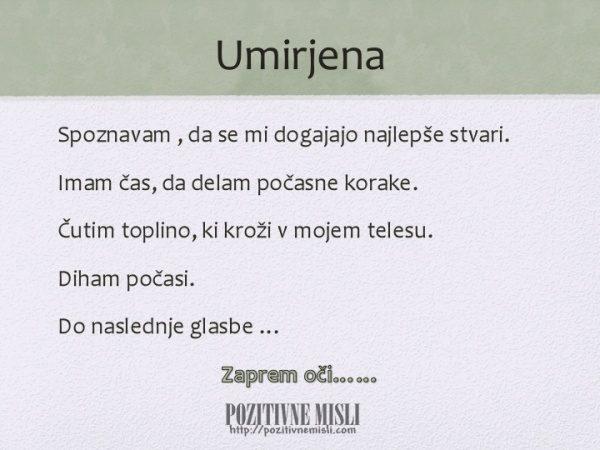 UMIRJENA