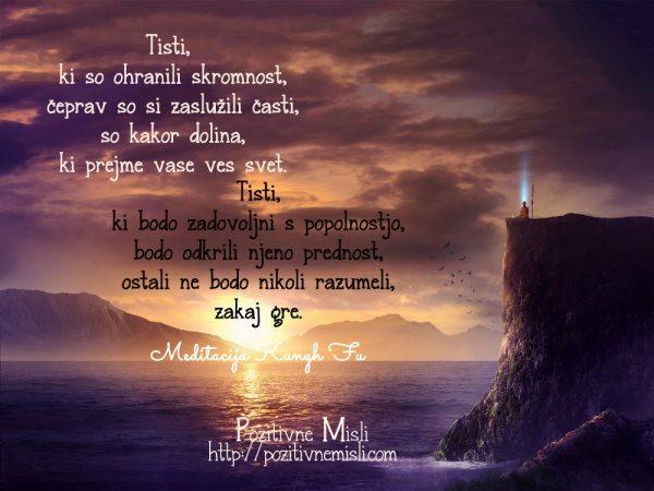Meditacija Kungh Fu