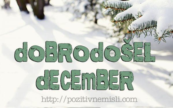 POZDRAVLJEN december