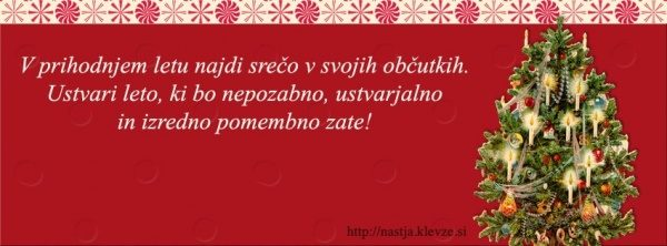 Novo leto & božič
