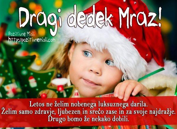 Dragi dedek Mraz