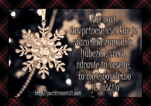 Božično in novoletno voščilo